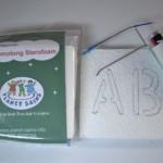 Memotong sterofoam dengan alat bertenaga baterai (>1x pakai)