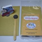 Menggerakkan kereta sterofoam dengan magnet (>1x pakai)