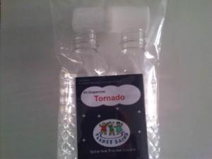 Membuat efek tornado dalam air (>1x pakai)
